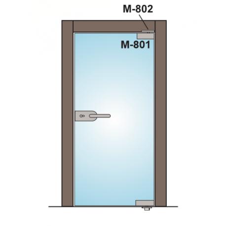 M-802S TRZPIEŃ ZAWIASU - MAT. STAL NIERDZEWNA