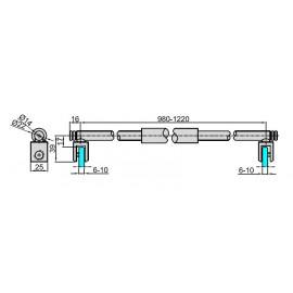 M-922-125-N C - RAMIĘ USZTYWNIAJĄCE - POL. CHROM