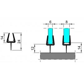 M-T6-D-2.5 PROFIL USZCZELNIAJĄCY